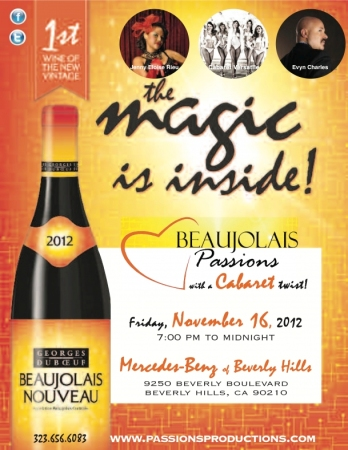 The Beaujolais Nouveau celebrates!