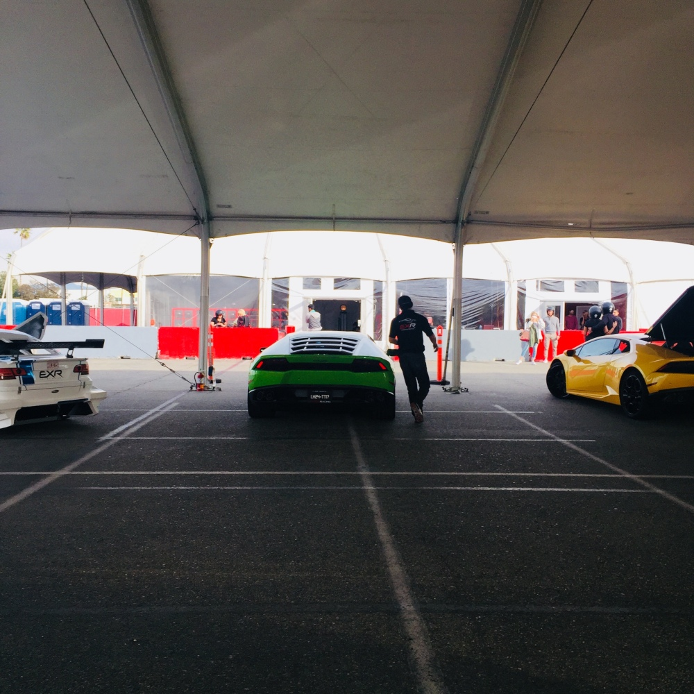 Exotics racing Los Angeles